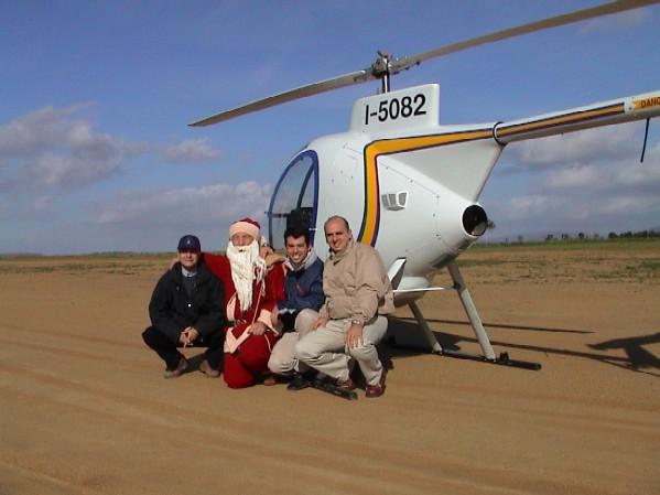 Elicottero 500 : Elibabbo natale l elicottero dragonfly di babbo